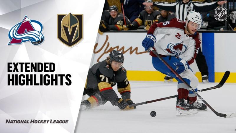 Colorado Avalanche vs Vegas Golden Knights May 10 2021 HIGHLIGHTS