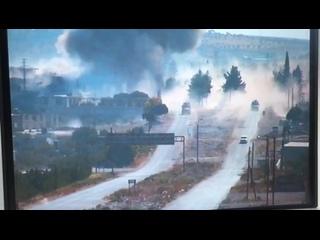 Подрыв российско-турецкого конвоя в Идлибе