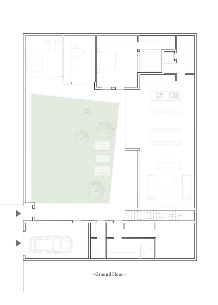 Oikos a - Villa Patio / MOST Monti Studio