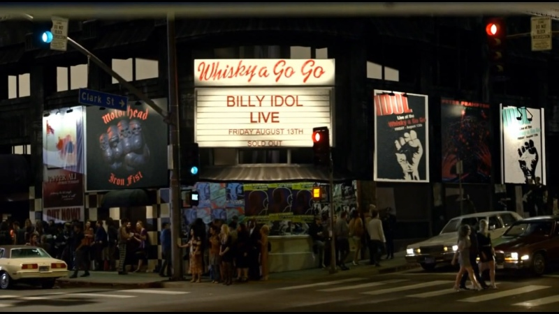 Концерт Билли Айдла в сериале Wicked City 2015