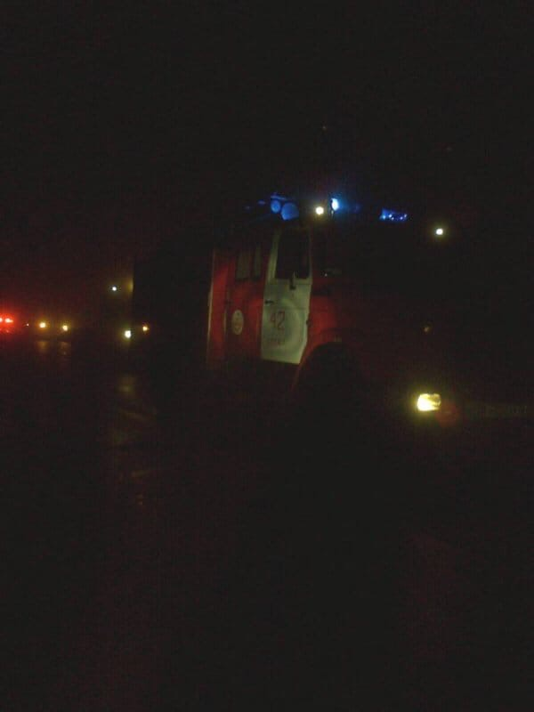 Сегодня, 20 ноября, в Суджанском районе случился пожар.