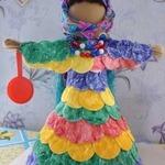 Кукла Масленица из пластиковой бутылки (МК)