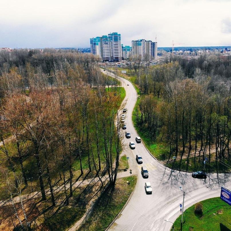 Реконструкция дороги в Соловьиной роще, по ул. Генерала Трошева