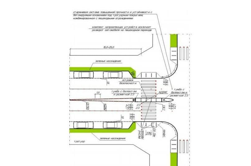 Как обезопасить водителей и пешеходов на перекрестке на примере Воровского-Володарского, изображение №2