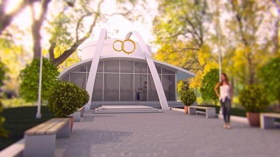 Очень красиво будет!К проектированию нового здания...