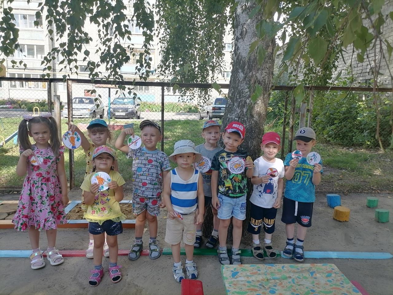 В городских детских садах проходят тематические недели