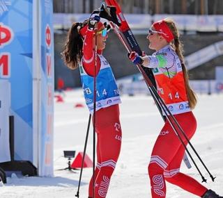 Лыжные гонки. Чемпионат России. Победители первенства страны побеждают и на взрослом уровне! 2