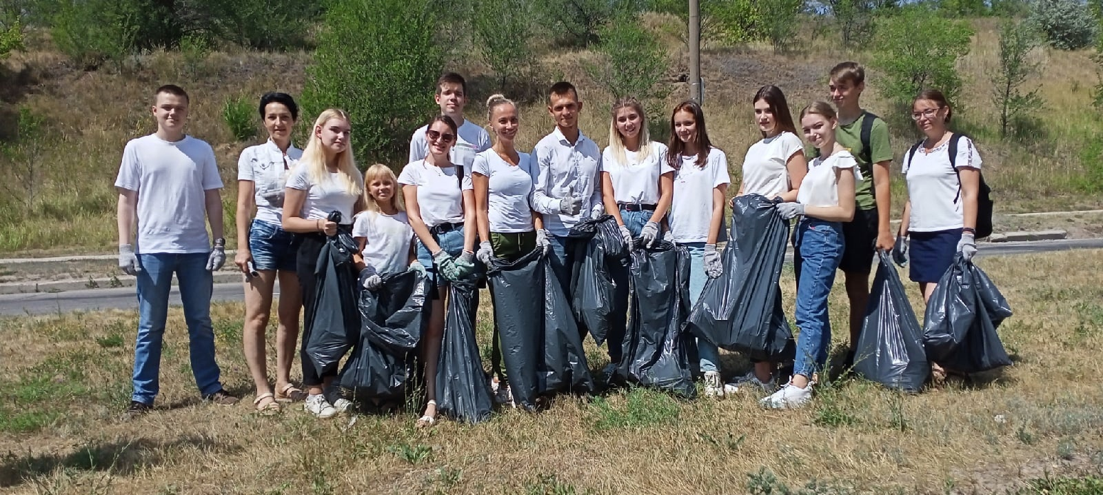 Участие в экологической акции