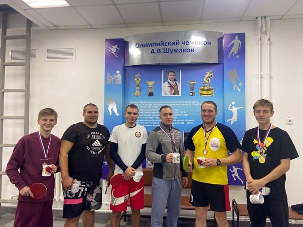 В посёлке Абан молодежным центром были организованны соревнование по настольному теннису среди рабочей