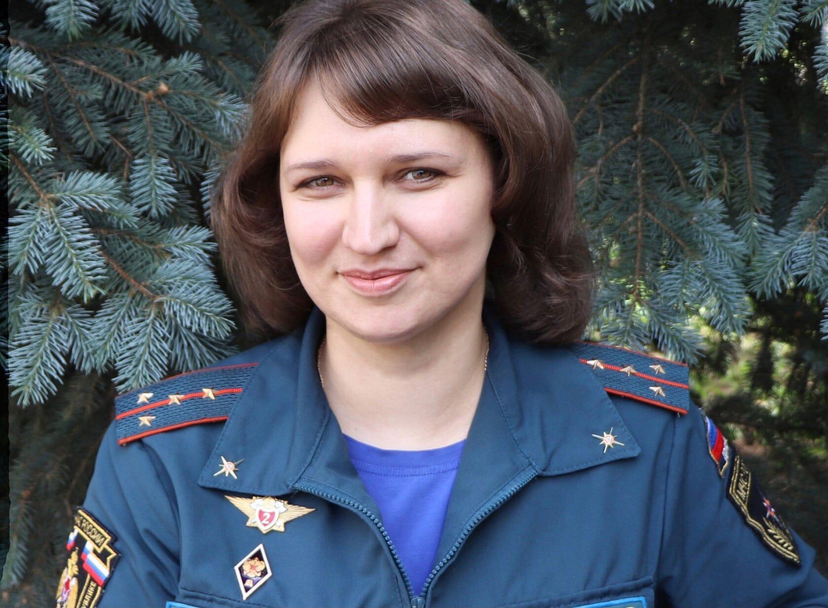 Психолог МЧС Удмуртии заняла второе место во
