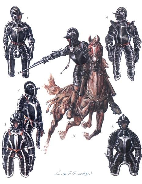 Чёрная смерть. Немецкие рейтары первая регулярная конница. Военная революция, начавшись со швейцарской пехоты, добралась и до кавалерии. Чёрные рейтары стали первыми солдатами Нового времени,