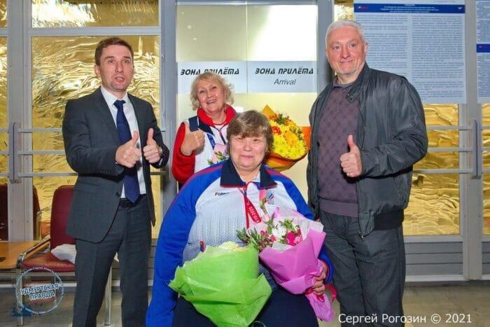 Вчера в Удмуртию вернулась бронзовая призёрка Паралимпиады
