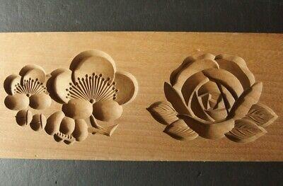 Японские деревянные резные формы Кашигата, изображение №19