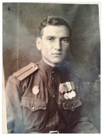 Старший лейтенант Колосов к концу войны