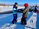 Совсем не поздно начать обучение сноуборду или горным лыжам!  Инструкторы работают ежедневно⛷🏂  ⚠Обя