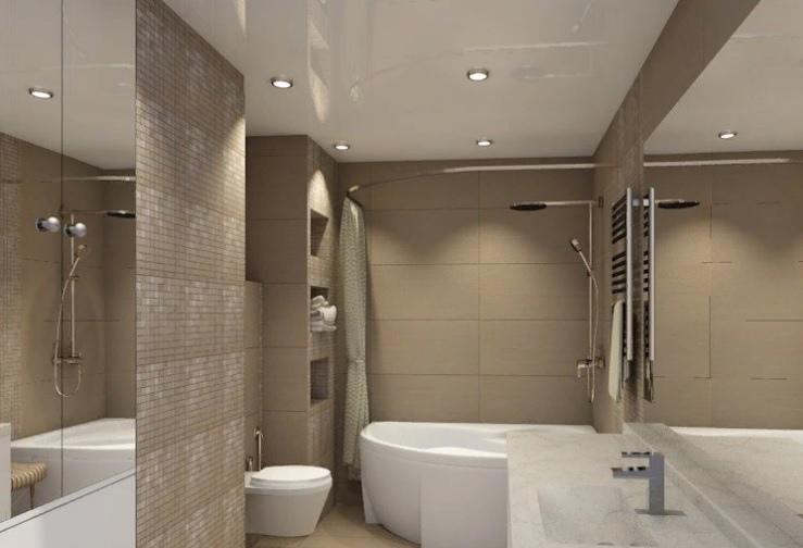 Туалет ванна ремонт дизайн СПб