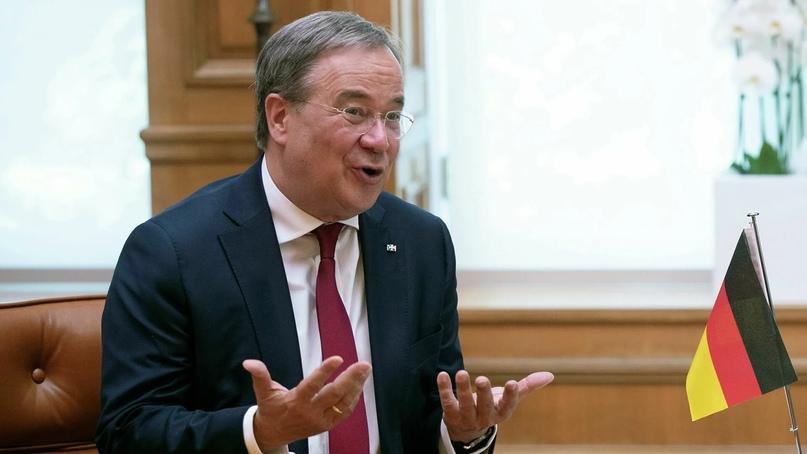Кандидат в канцлеры ФРГ поддержал «Северный поток — 2»