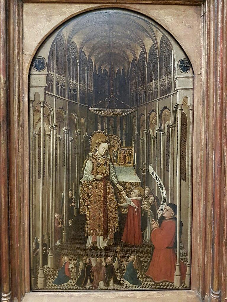 Священство Девы Марии. Пюи Амьенский, 1438 год.