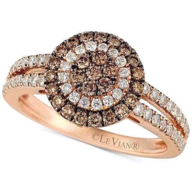 icN U6f JVg - Шоколадные бриллианты в обручальных кольцах - звучит мечтательно