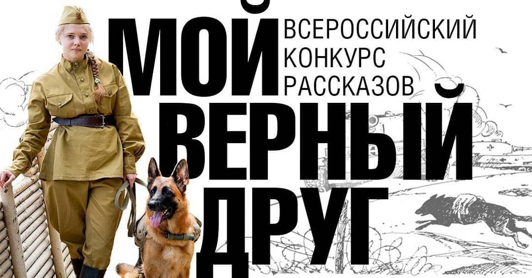 Принимаются работы на литературный конкурс «Мой верный друг», приуроченный к ежегодному Дню фронтовой собаки