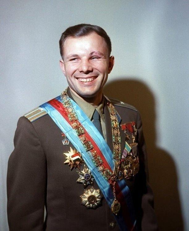 Полный список наград Юрия Гагарина.