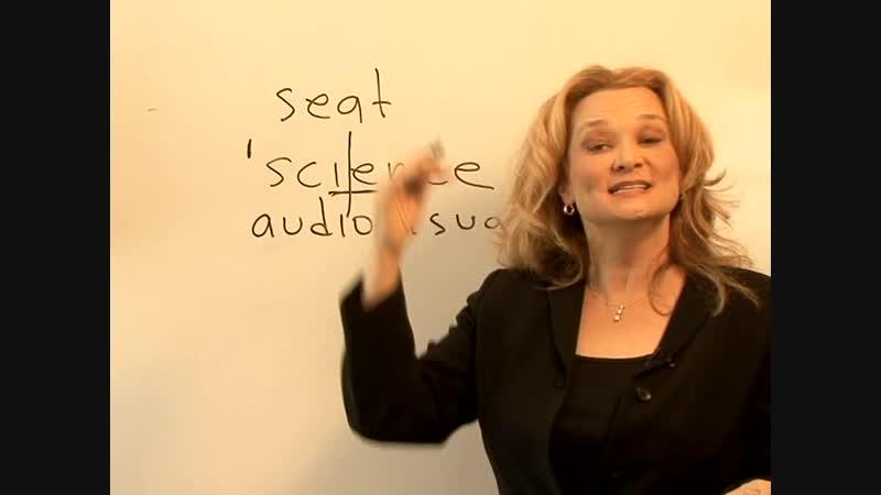 Rule 1 Basics of Syllable Stress