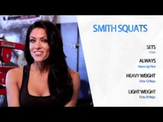 Smith Squats Workout - Amanda Latona Turning Heads S1 EP4