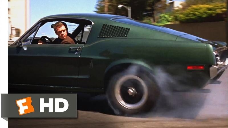 Bullitt 1968 San Francisco Car Chase Scene 4 10 Movieclips