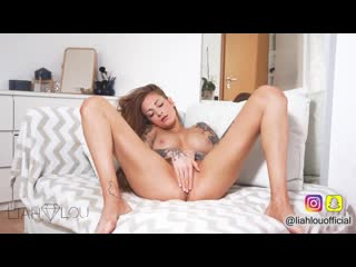 LiahLou Ginger Redhead Girl Masturbates in her first Video - Beautiful Babes