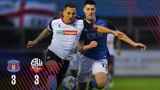 HIGHLIGHTS   Carlisle United 3-3 Bolton Wanderers