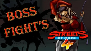 Streets of Rage 4!   ► BOSS FIGHT'S!!!   |   BONUS
