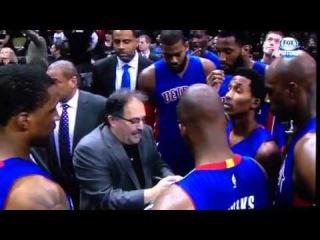 Stan Van Gundy Eff Bomb - Pistons v Spurs - January 6, 2015