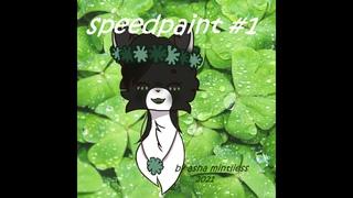 Speedpaint #1||арт для Снежинки Белохвост