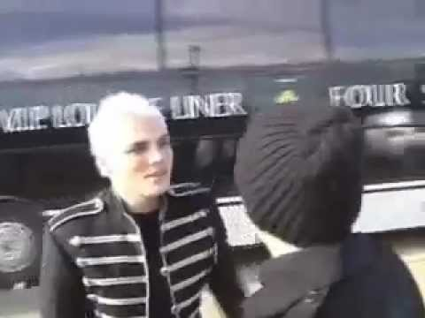 Placebo and Gerard Way from My Chemical Romance at Reading Festival 2006