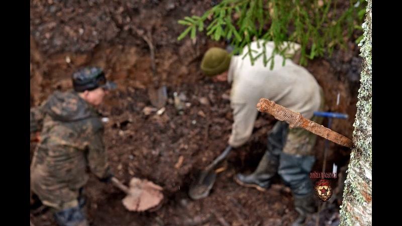 Новые блиндажи и розыгрыш для подписчиков We continue excavations of German dugouts