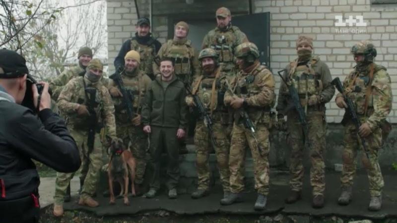 Повне відео скандальної розмови Зеленського з добровольцями у Золотому