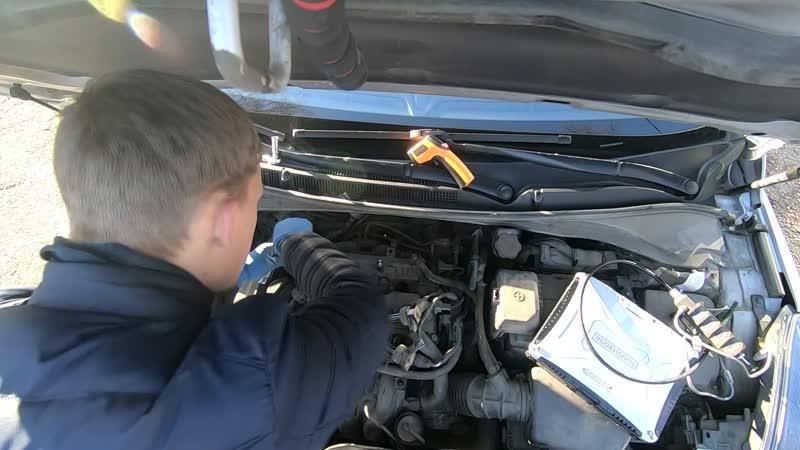 Эндоскопия двигателя G4NA Задиры в цилиндрах Hyundai I40