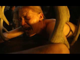 Жесткое изнасилование в русском фильме (насилуют по очереди, ебут в жопу толпой, кончают в попку, кричит от боли)