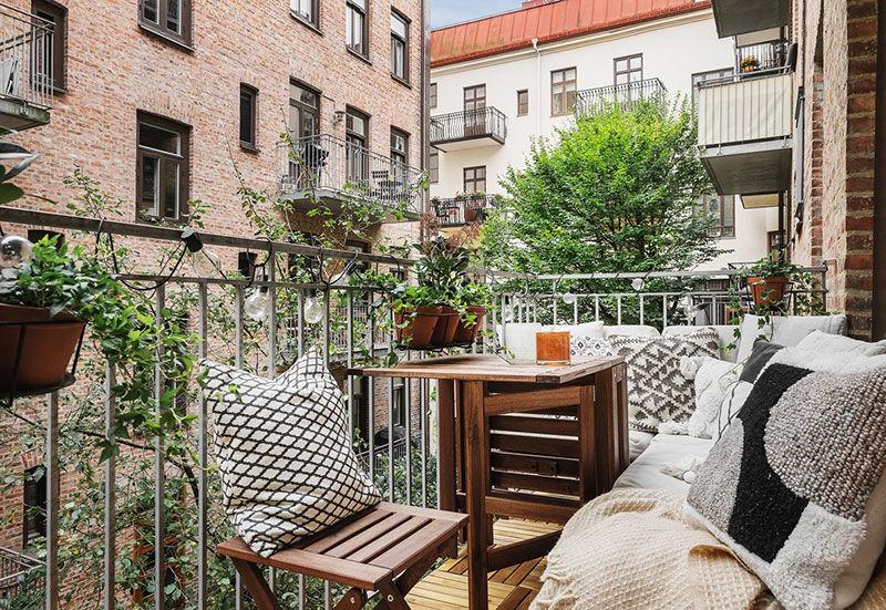 Смелые тона, классический характер и современный декор: великолепная квартира в Стокгольме (100 кв.