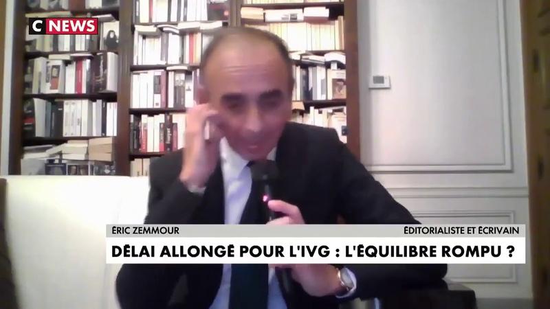 Zemmour Réagit sur la loi IVG