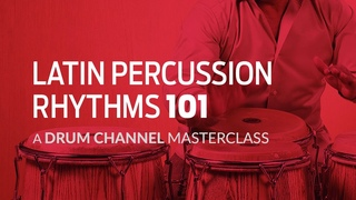 LATIN PERCUSSION PATTERNS 101 – A Masterclass by Richie and Roland Gajate-Garcia