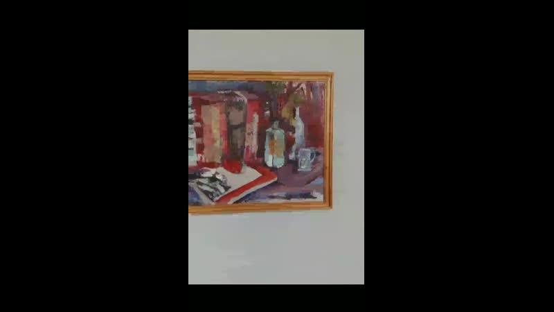 Выставка живописных работ Четыре с половиной 4 5 курс film by Yara