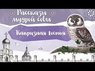 Православный рассказ для детей «Капризная гостья»