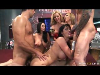 Ava Addams Jessie Rogers Nikki Benz Eva Karera (Porn Anal Sex Fuck Milf Squirt Group GangBang Порно Gonzo Секс Оргия Анал xxx)