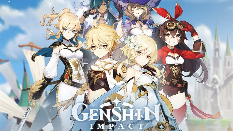 Genshin Impact часть 13 проходжние проджаем искать дракона и он казваетсая друг у него бол