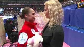 Alina Zagitova World Champs 2019 SP 1  A