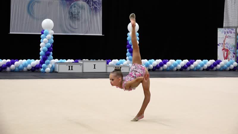 Anastassija Davõdova Free 2010A Noorus Winter Cup 2019