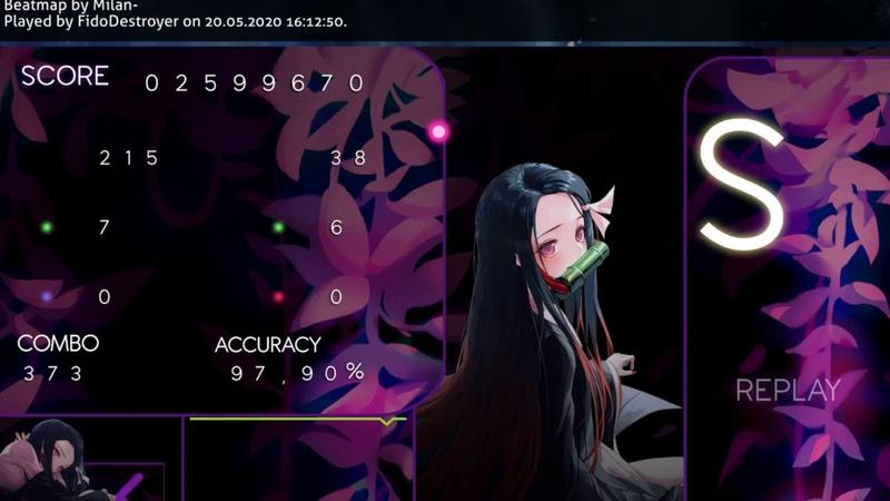 Osu! Virtual Paradise от AK X LYNX ft. Veela FC 77pp