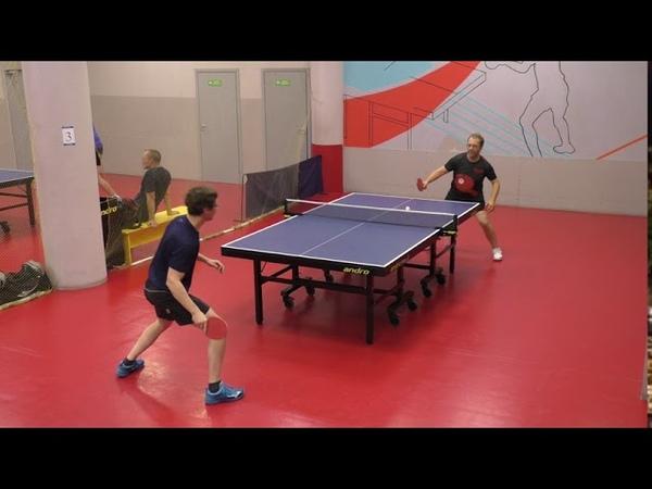 Play 1 8 Городков Д Чирков А играем турнир СТАНДАРТ по настольному теннису 24 09 в ТТКЛУБ