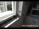 Пластиковые окна в Смоленске. Монтаж окна и установка откосов.